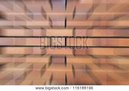 Abstract square brick wall background Zoom Blurred