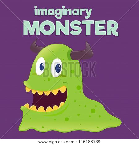 Children Imaginary Slug Monster