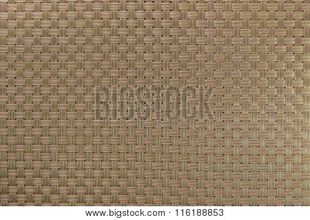 Gold Textured Surface Of Interlace Nylon Strings