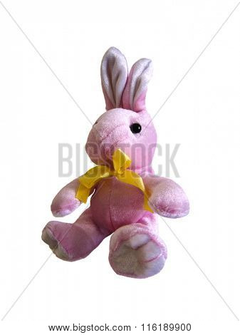 Pink Easter plush Bunny