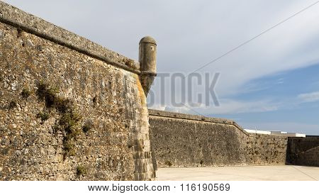 Cascais Turret And Walls Of The Citadel