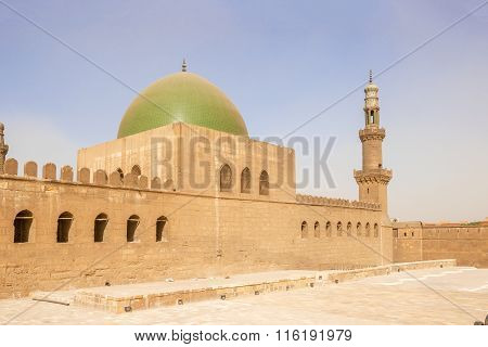 Mosque In The Saladin Citadel In Cairo, Egypt.