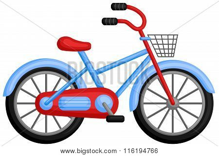 Cute Colorful Bicycle