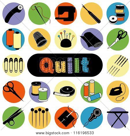 Quilt Icons
