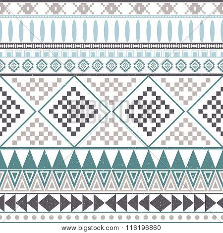 Aztec peruvian ethnic seamless pattern tribal pink and orange background. Bright background for invitations and greeting cards or fashion fabric