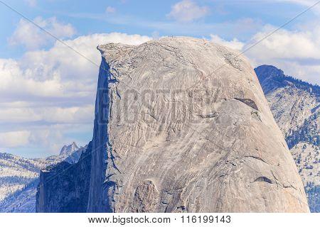 Half Dome In Yosemite National Park, California, Usa