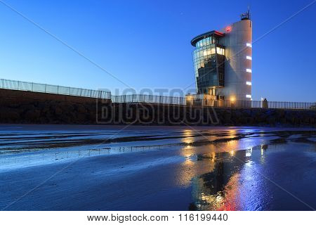 The Marine Operations Centre At Pocra Quay, North Pier In Aberdeen Scotland In The Morning