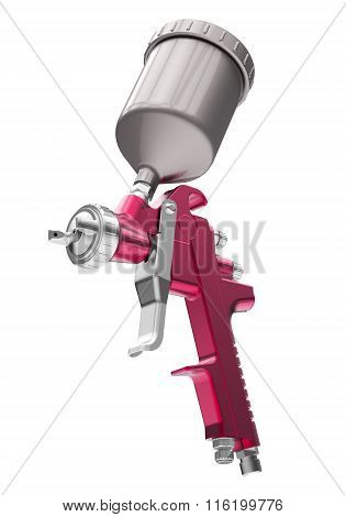 Building spray gun
