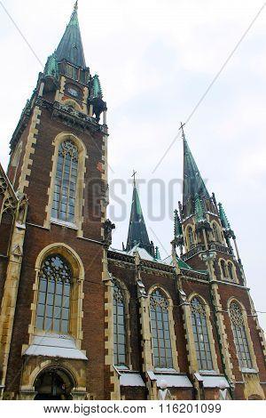 Church of Saints Olha and Elizabeth in Lviv