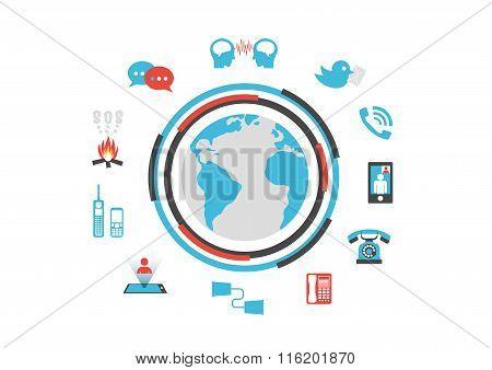 Isolated Communication Technology
