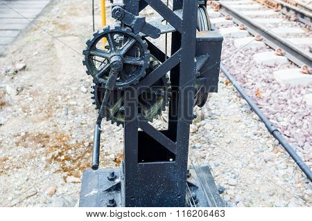 Old Gear For Support Railway