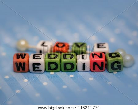 Word Wedding And Love