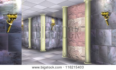 Marble Walls of the Ancient Maze 04