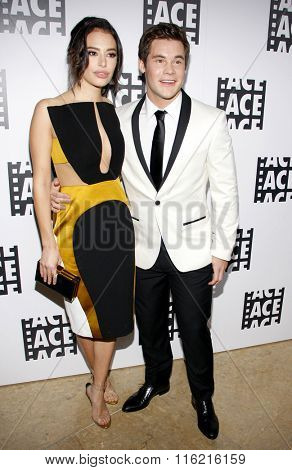 Chloe Bridges and Adam DeVine at the 66th Annual ACE Eddie Awards held at the Beverly Hilton Hotel in Beverly Hills, USA on January 29, 2016.