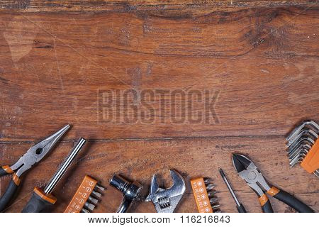 Various Kinds Of Tools, View From The Top