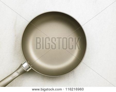 top view of the frying pan