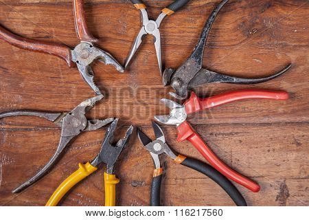 Nippers, Pliers And Other Tools