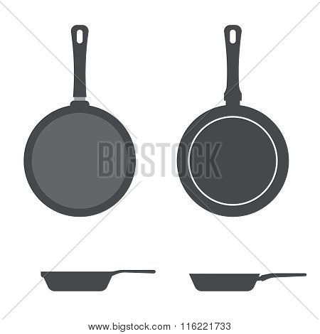 Vector icons pan.