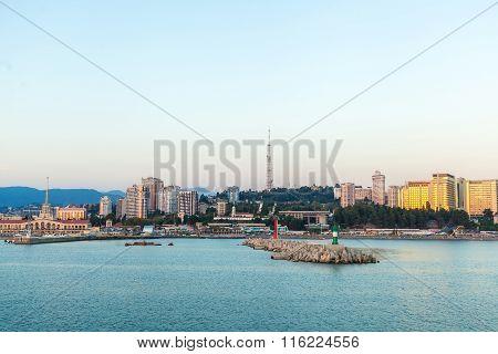 Seaside Pier Of The City
