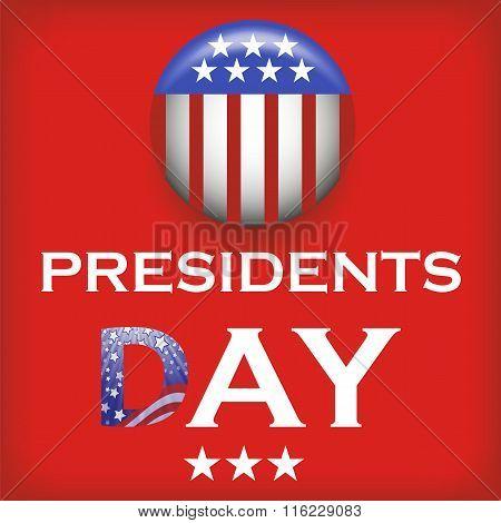 Presidents Day Icon