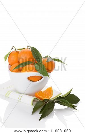 Fresh Ripe Mandarines.