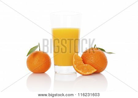 Fresh Mandarin Juice.