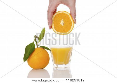 Fresh Orange Juice.