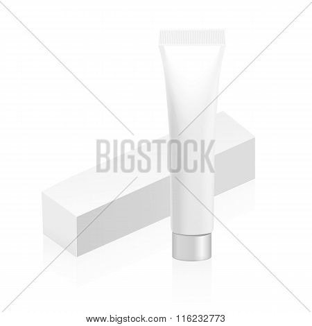 Tube and packaging for cream or gel