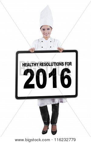 Chef Shows Healthy Resolutions For 2016