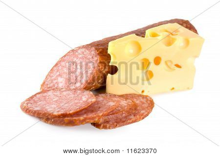 Sausage and cheese