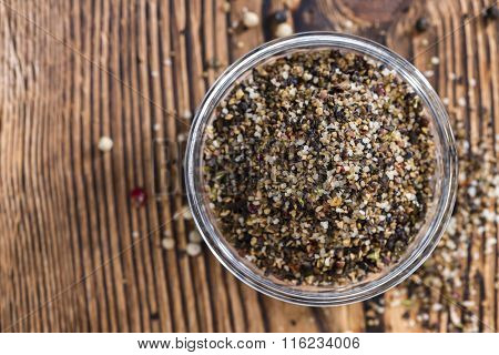 Portion Of Milled Peppercorns