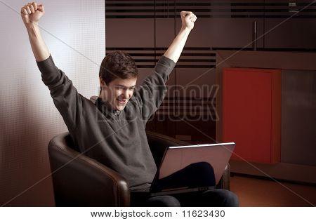Joy On The Laptop