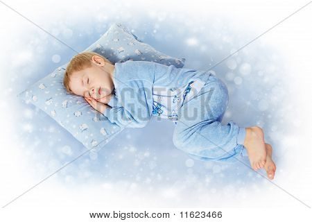 Sleeping Little Child