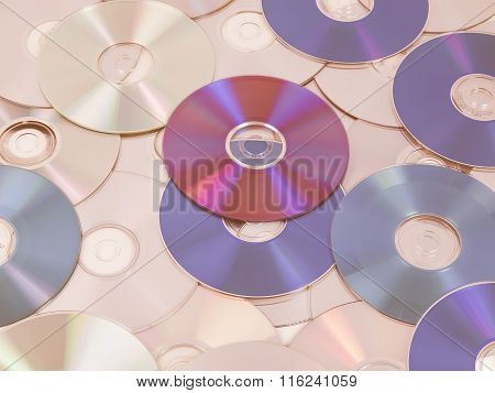 Cd Dvd Db Bluray Disc Vintage