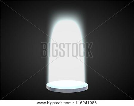 Portal With A Podium Teleportation 2