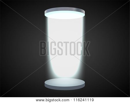 Portal With A Podium Teleportation