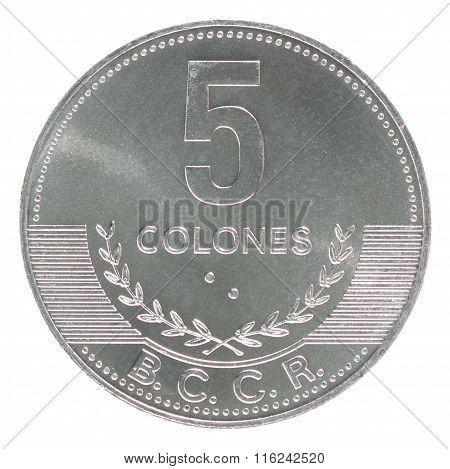 Coin Costa Rica