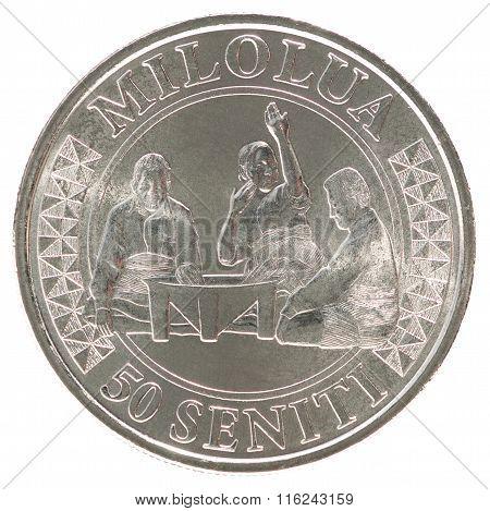 Tonga Seniti Coin