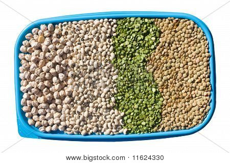 Tray With Legumes