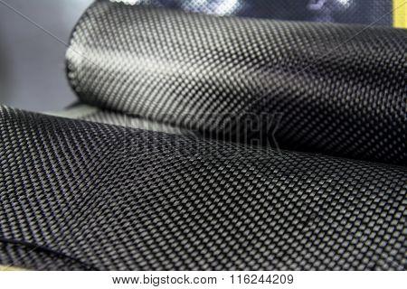 Carbon fiber composite material background