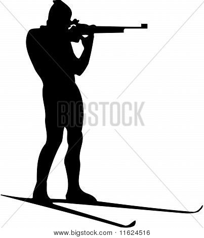 biathlon athlete