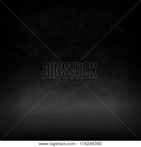 black interior background