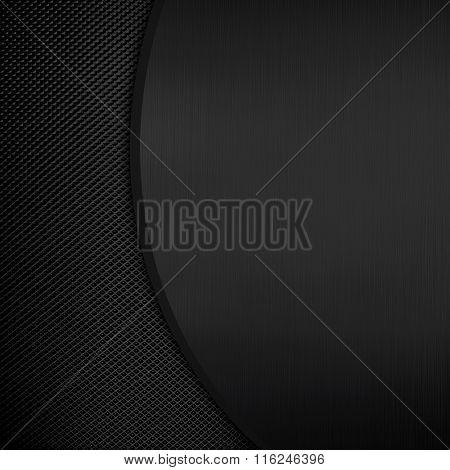 black metal pattern background