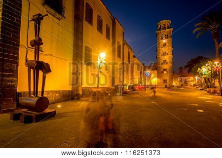 La Laguna town