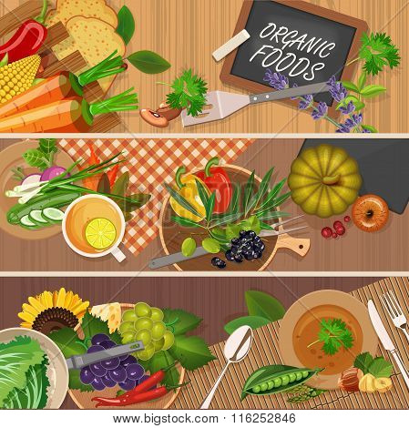 Vector illustration of vitamin groups