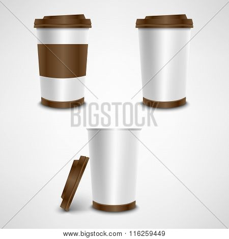 Plastic Coffee Cup Template