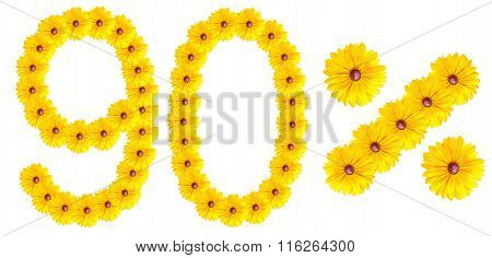 Figures 90% Of The Letters Written By Flowers