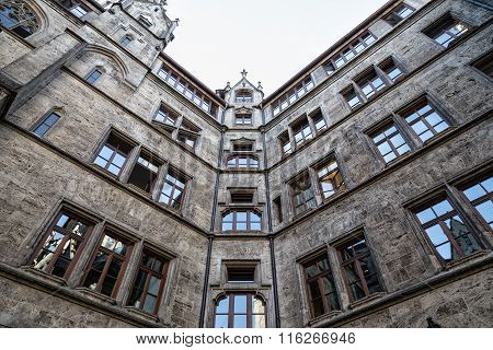 Olld Stone Building, View From Below.