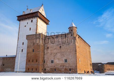 Hermanni Linnus Or Herman Castle In Narva. Estonia