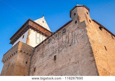 Herman Castle, Facade Fragment. Narva. Estonia